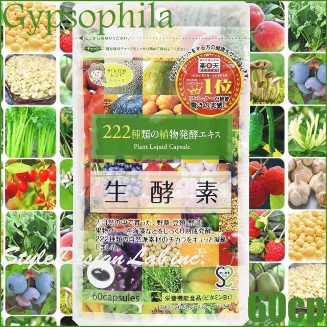 【メール便のみ送料無料】ジプソフィラ 生酵素 60...