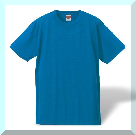 耐久性重視、ポリエステル100%Tシャツ・ターコイ...