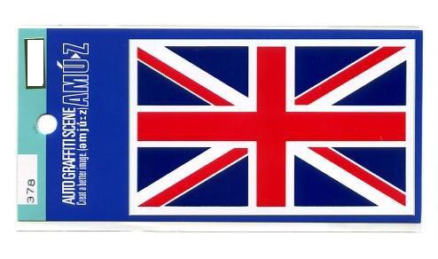 イギリス国旗ステッカー中サイズ【フラッグ シー...