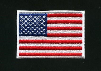 アメリカ国旗ワッペン Mサイズ【フラッグ USA】