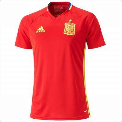 トレーニングシャツ アディダス スペイン代表 ト...
