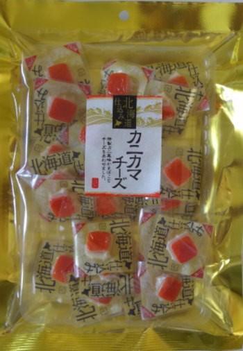 (送料無料)山栄食品 カニカマチーズ120g×...