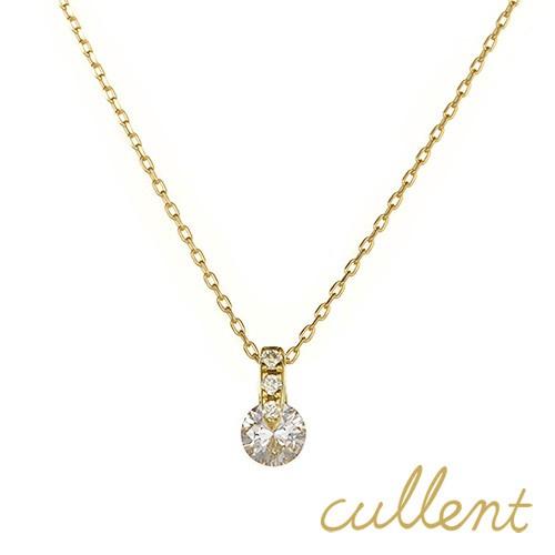 K18ダイヤモンドネックレス luster
