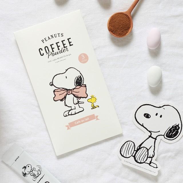 INIC coffee イニックコーヒー カフェオレ3P カー...