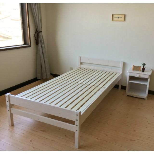 ベッド すのこベッド シングル ベット スノコ ワ...