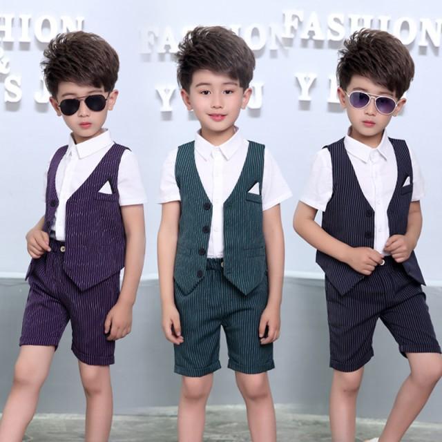子供服 スーツ 男の子 フォーマル 2点セット 激安...
