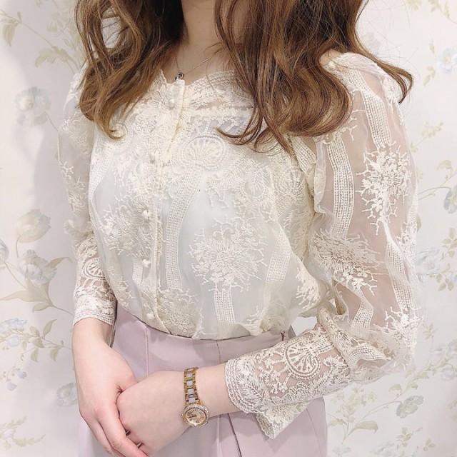 【送料無料】トップス ブラウス シャツ カットソ...