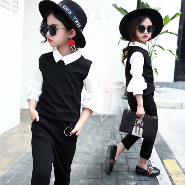 子供 2点セット 韓国子供服 2点セット アウター+...