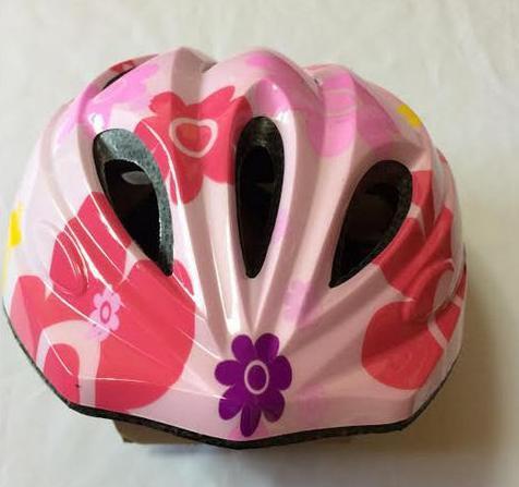 【即納】超軽量 ピンク キッズ 自転車 ヘルメット...
