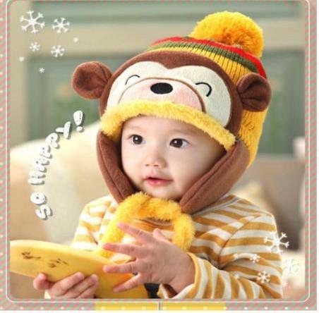 子供 帽子 冬 赤ちゃん 耳 帽子 かわいい 子供用...