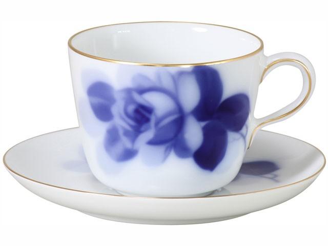 大倉陶園 ブルーローズ(8211) モーニングカップ...