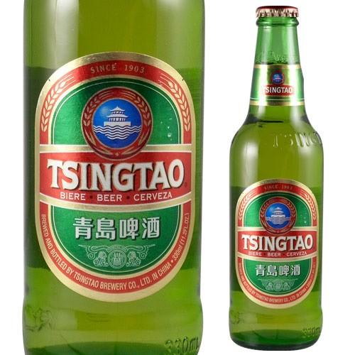 青島ビール 330ml 瓶[アジア][チンタオ][輸入...