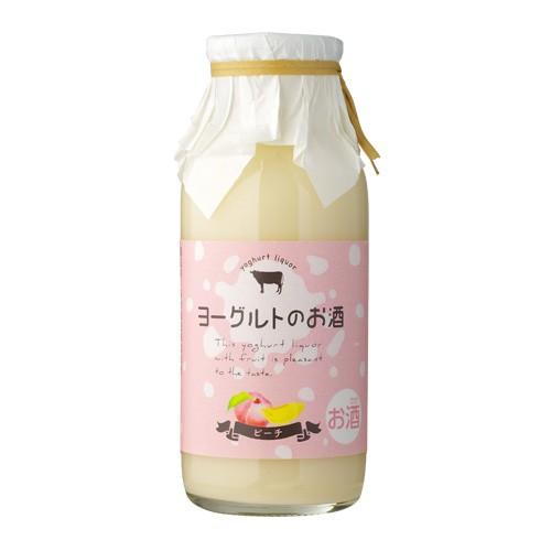 ヨーグルトのお酒 ピーチ 170ml 高知県 菊水酒造 リキュール お酒 飲みきりサイズ