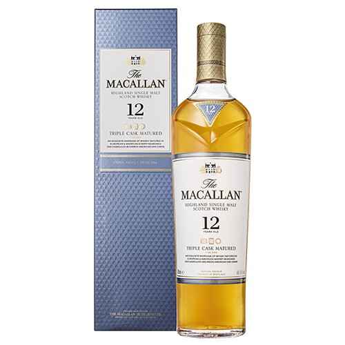 正規品 ザ マッカラン トリプルカスク 12年 700ml 40度 シングルモルト スペイサイド スコッチ ウイスキー whisky_YM12T