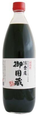 ヤマキ 消費者 御用蔵 生醤油 1L(旧 正直村 山木...