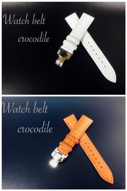 2 時計ベルト メンズ 腕時計 Dバックル カー...