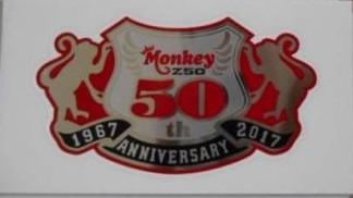 【ホンダ純正】 モンキー50周年モデル(Z50) タ...