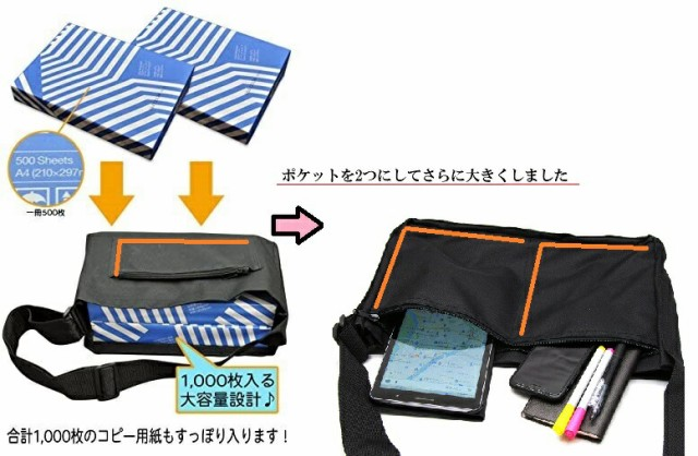 【送料無料】NEWポスティングバッグ チラシ配布用...