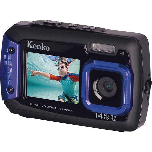ケンコー 防水1400万画素デジタルカメラ DSC1480D...