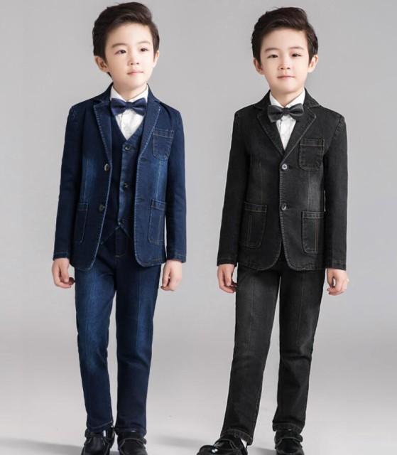 デニムセット 男の子スーツ デニムスーツ 七五三 ...