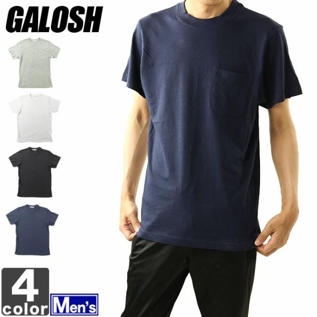 半袖Tシャツ ガロッシュ GALOSH メンズ ポケット...