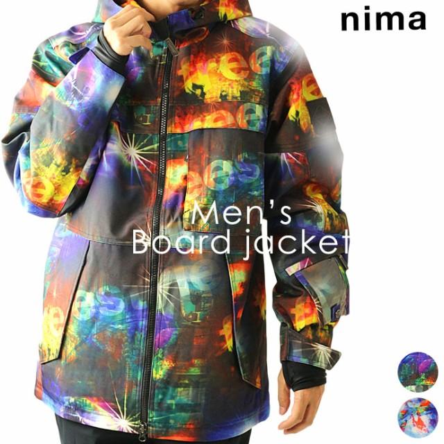 ニーマ【nima】メンズ スノーボードジャケット NB...