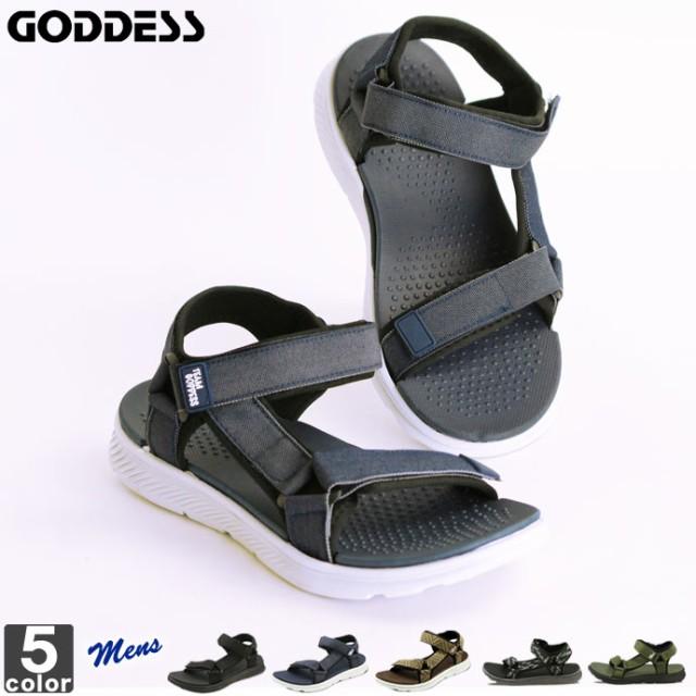 スポーツサンダル ゴッデス GODDESS メンズ TG202...