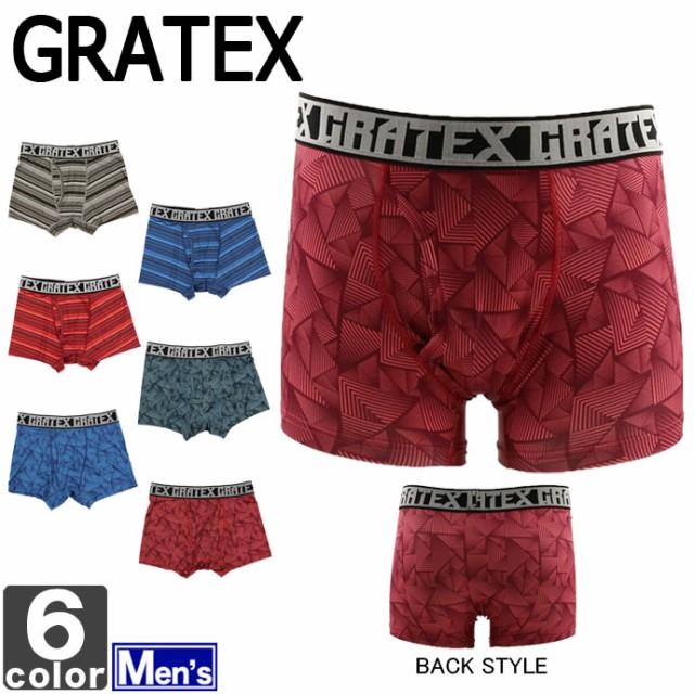 グラテックス【GRATEX】メンズ ボクサーパンツ 12...