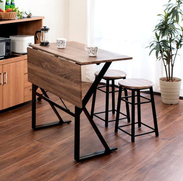 ダイニングテーブルセット 2人用 椅子 一人暮らし...
