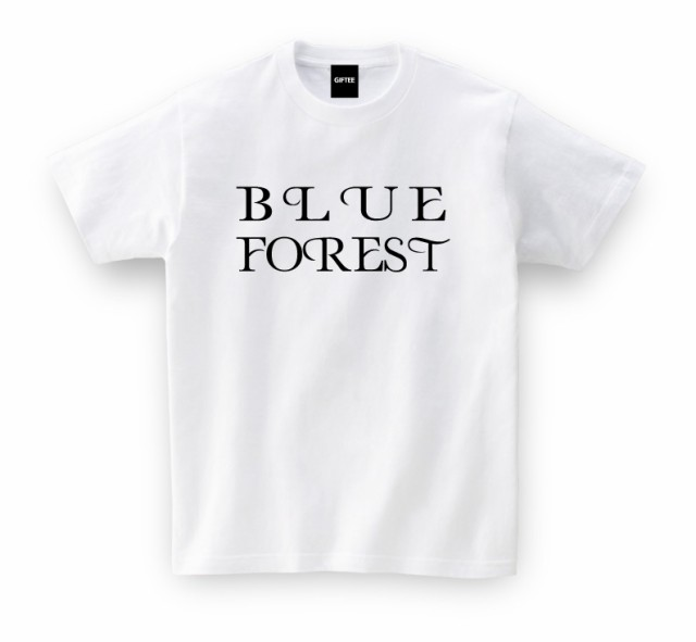 BLUE FOREST TEE(青森県)ご当地 Tシャツ おもし...