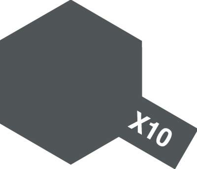 TAMIYA 【塗料】アクリルミニ X-10 ガンメタル