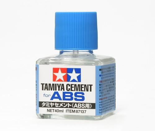 タミヤセメント(ABS用接着剤) 【87137】