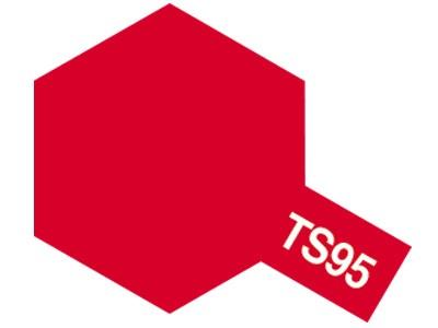 TAMIYA 【塗料】TS-95 ピュアーメタリックレッド ...
