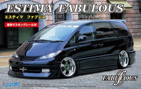 フジミ 1/24  トヨタ エスティマ ファブレス 窓...