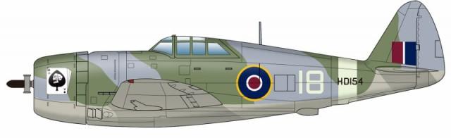 プラッツ PDR-24 1/144 WW.II イギリス空軍戦闘...