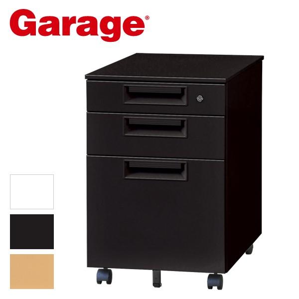 Garage スチール製 ワゴン 3段 SH-046SC3