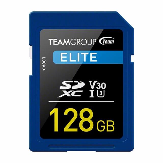 TEAM SDカード 128GB SDXC UHS-I V30シリーズ 10...