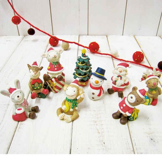 ノーティークリスマス ガーデンマスコット 全8種 ...
