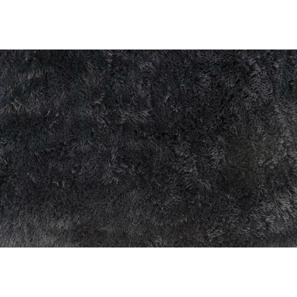 ラグマット 長方形 blf-130bk ブラック 黒 W130×...