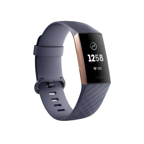 Fitbit(フィットビット) Charge3 FB410RGGY−...