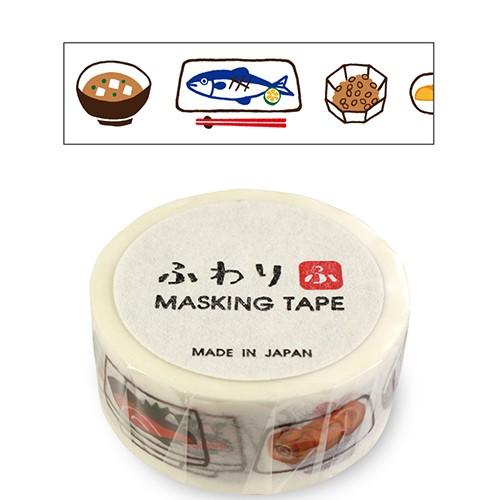 ふわり マスキングテープ FW47020 和食