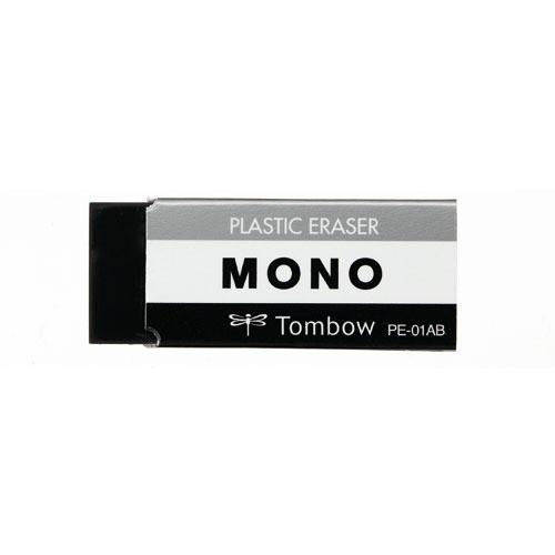 トンボ鉛筆 MONO消しゴムブラック PE‐01AB