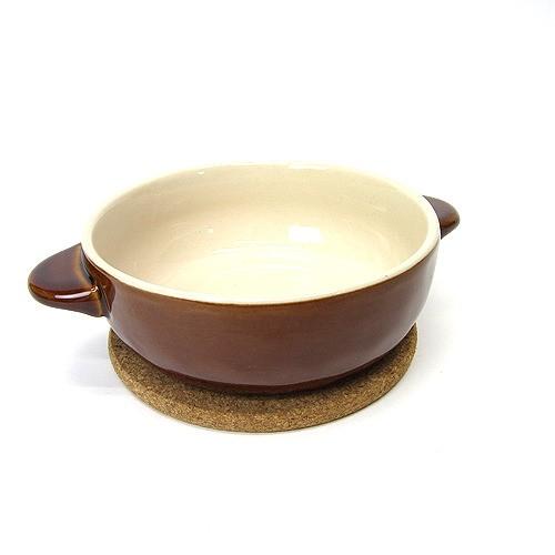 ほっくり 丸グラタン 茶 16476