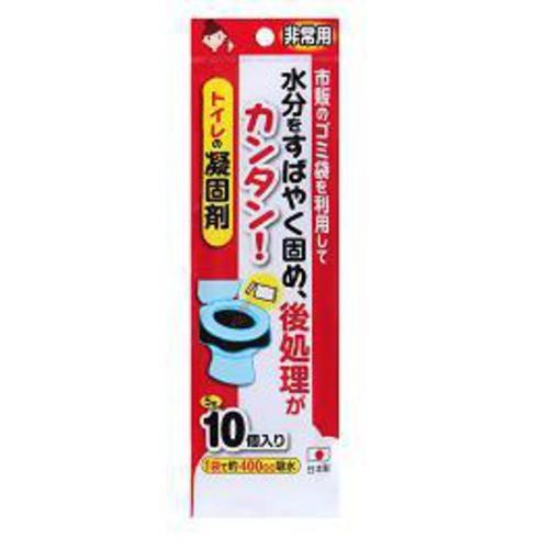 サンコー 非常用トイレの凝固剤10P R−30