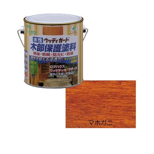 ニッペ 水性ウッディガード 0.7L マホガニ
