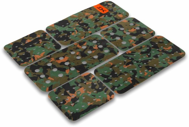DAKINE FRONT FOOT SURF TRACTION PAD OLIVE CAMO...