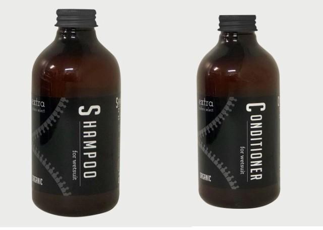 extra Wet Suits Shampoo Conditioner Organic セ...