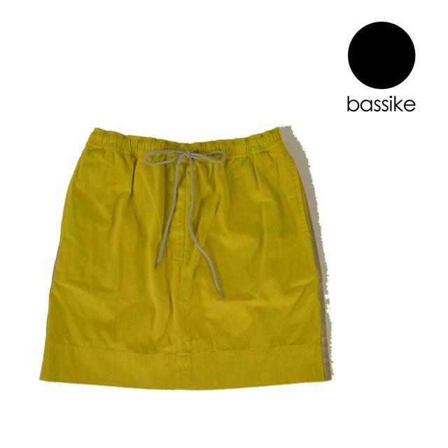 bassike/ベイシーク mini grosgrain skirt サイド...