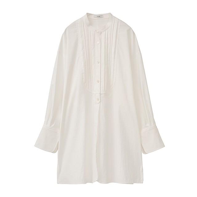 クラネ CLANE 2ウエイ ピンタック ドレスシャツ T...