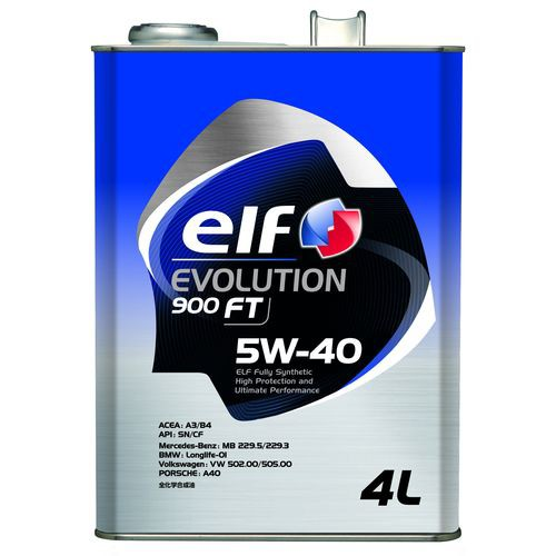 elf EVO900FT SN/CF 5W-40 4L